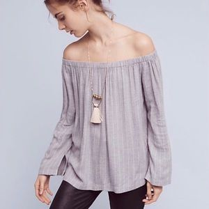 Cloth and Stone Off The Shoulder Homestead Flannel